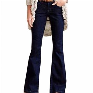 Anthropologie Pilcro Low Rise Boot Cut Jeans